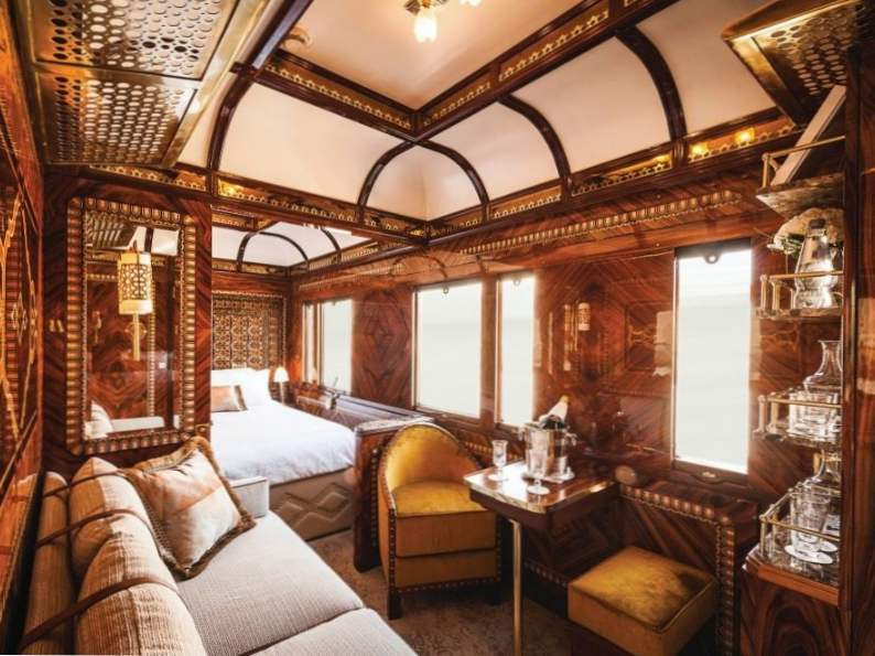 10 most luxurious sleeper trains in the world