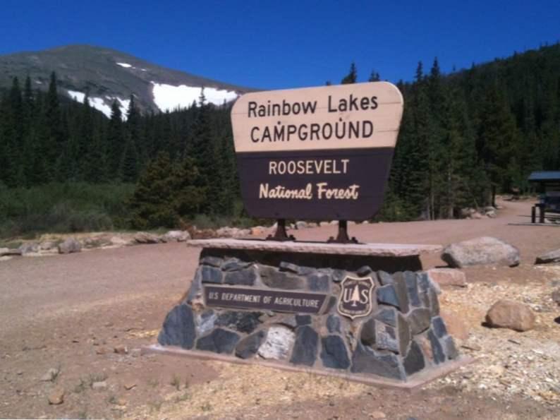 7 top campsites near denver colorado
