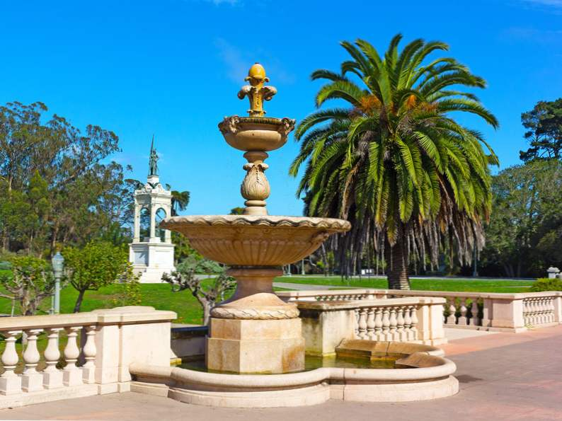 8 attractions within walking distance of golden gate park