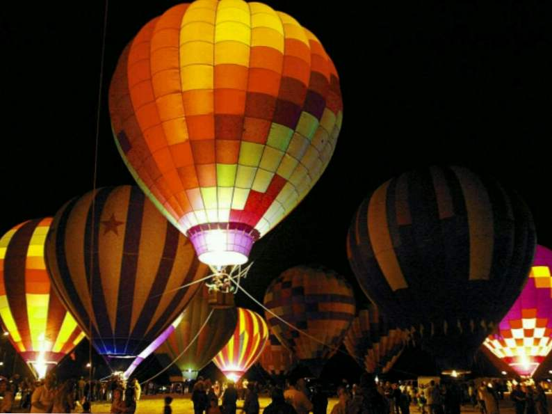 celebrate st patricks day at this unique hot air balloon festival in dublin ga