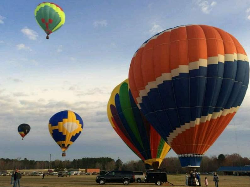 celebrate st patricks day at this unique hot air balloon festival in dublin ga 3