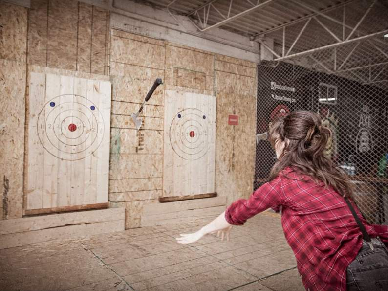 channel your inner lumberjack at bad axe throwing in denver colorado