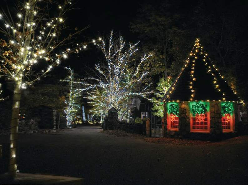 experience the enchanted garden of lights in rock city georgia 4