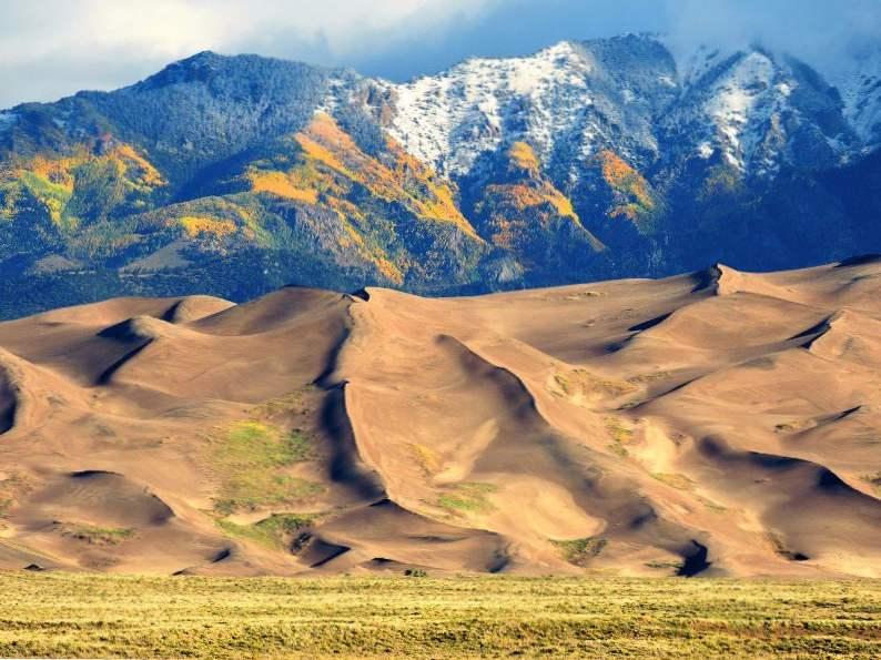 explore north americas tallest sand dunes in colorado