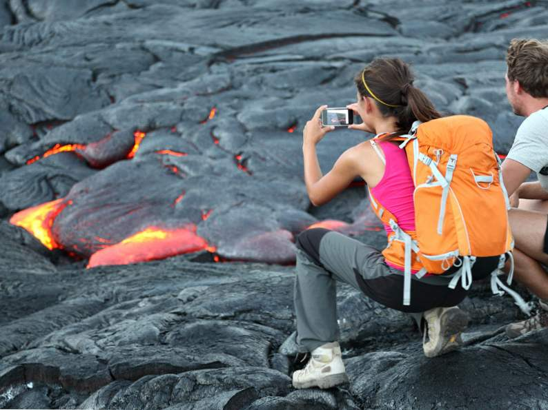 get a front row seat at volcanoes national park hawaii