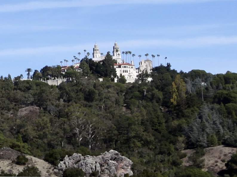 hearst castle is an essential stop along the pacific coast highway