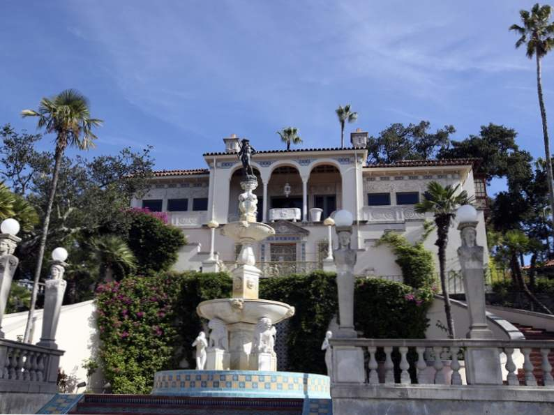 hearst castle is an essential stop along the pacific coast highway 2