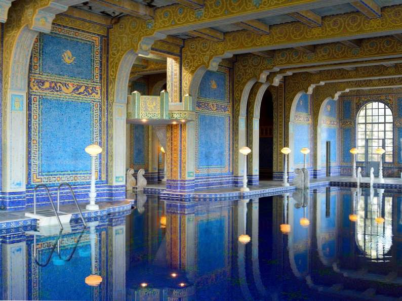 hearst castle is an essential stop along the pacific coast highway 6