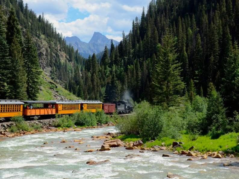hop aboard the magical polar express train ride in colorado