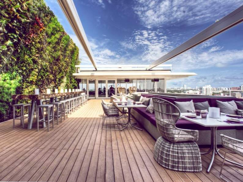miamis 12 best rooftop bars for summer drinking