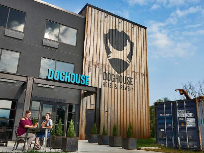 stay in a working brewery at ohios doghouse hotel