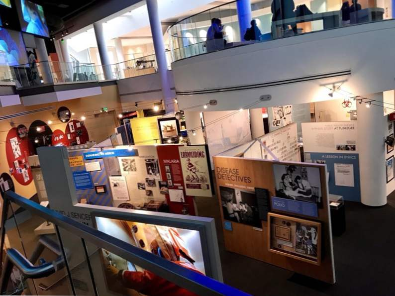 take a tour of the cdc museum in atlanta