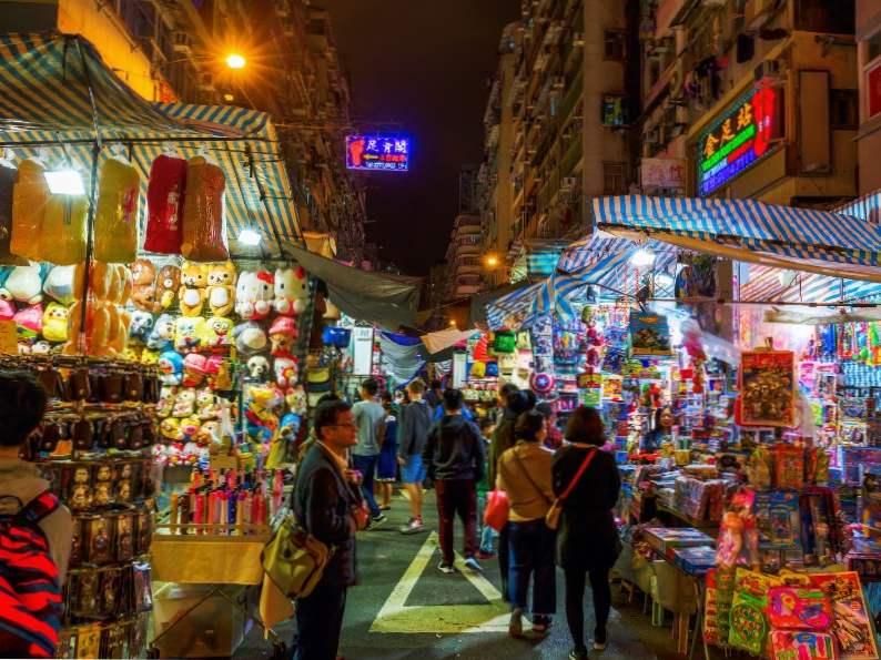 top 12 markets in hong kong