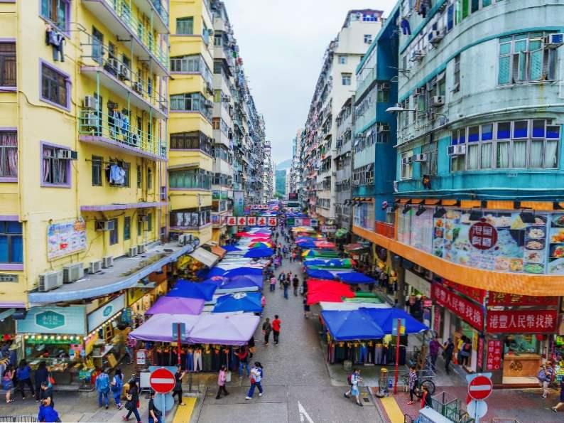 top 12 markets in hong kong 2