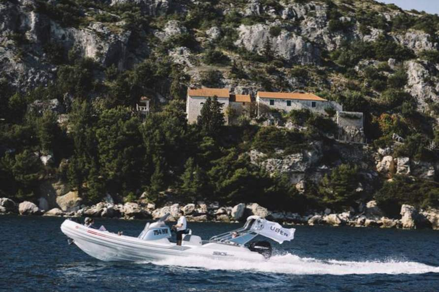 uberboat makes island hopping in croatia easier than ever