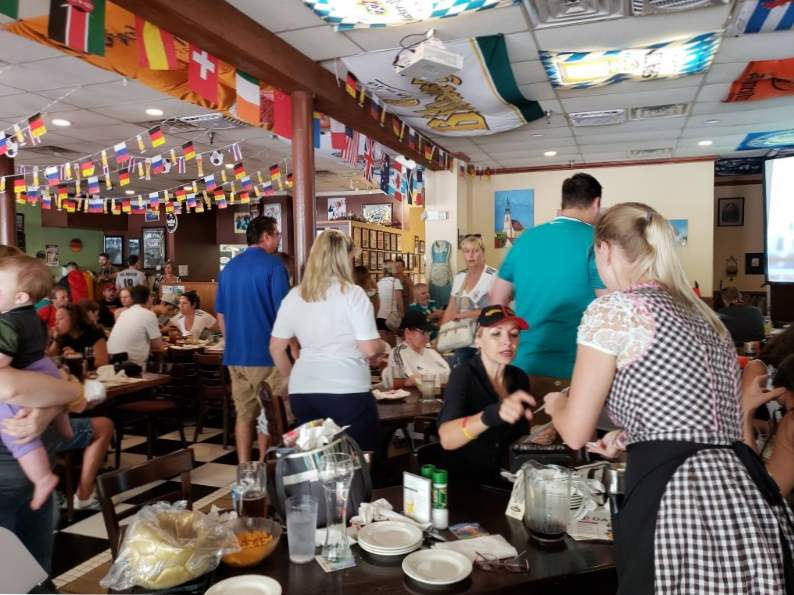 visit germany at hollerbachs willow tree cafe in florida