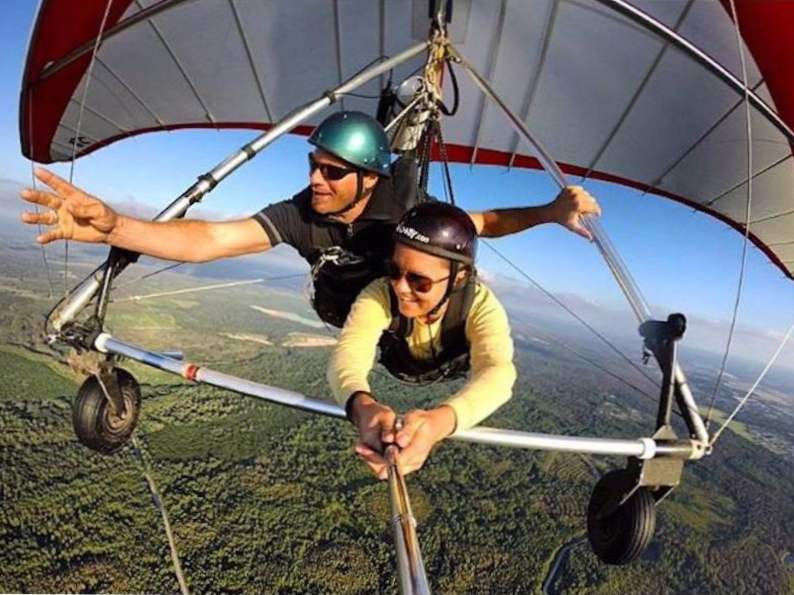 you can go hang gliding at this central florida ranch