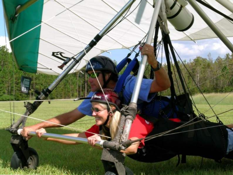 you can go hang gliding at this central florida ranch 3