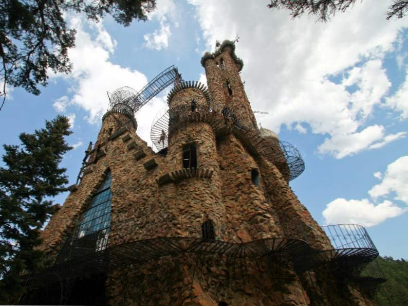 colorados bishop castle looks like it stepped out of game of thrones