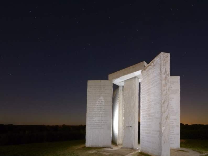 experience americas stonehenge the georgia guidestones 2
