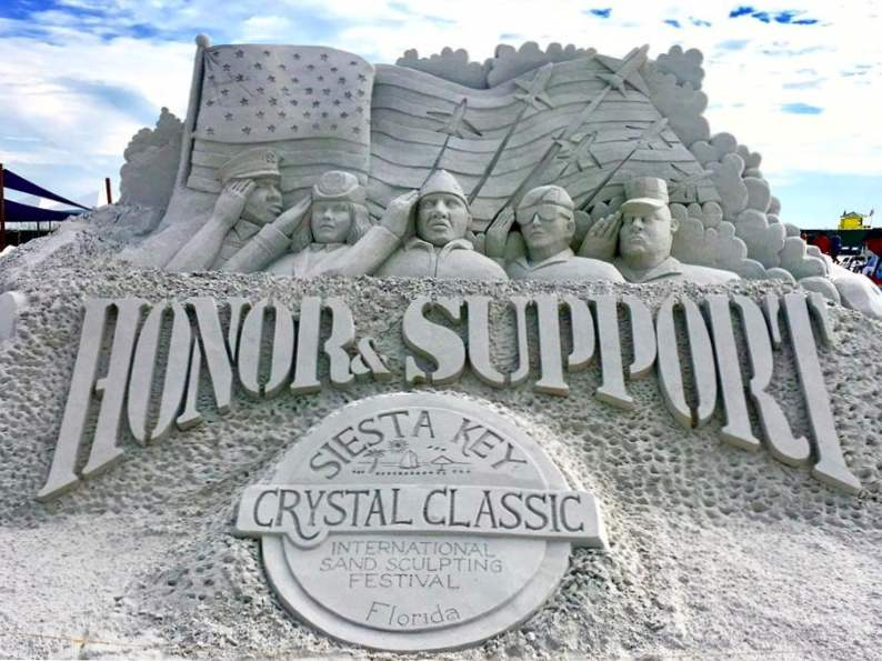 see stunning sand sculptures at this annual event in siesta key 5