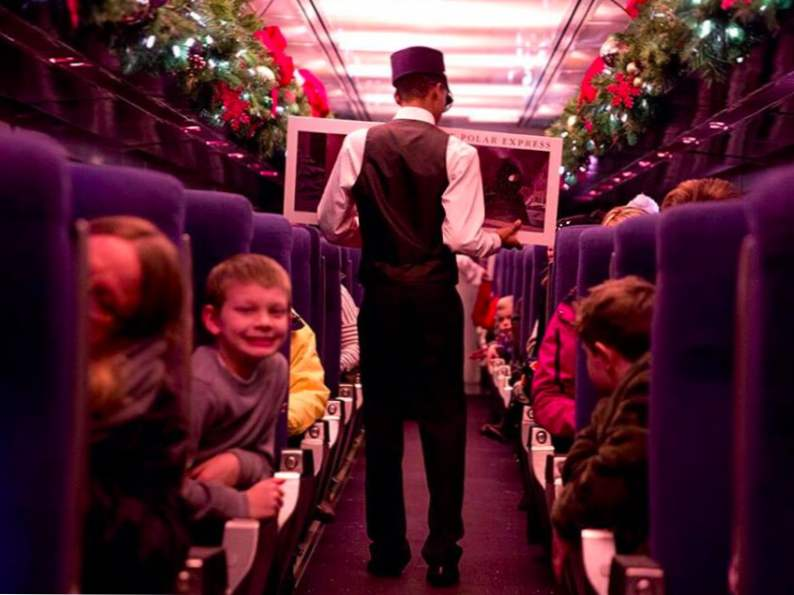 take a magical journey on the polar express train ride in florida