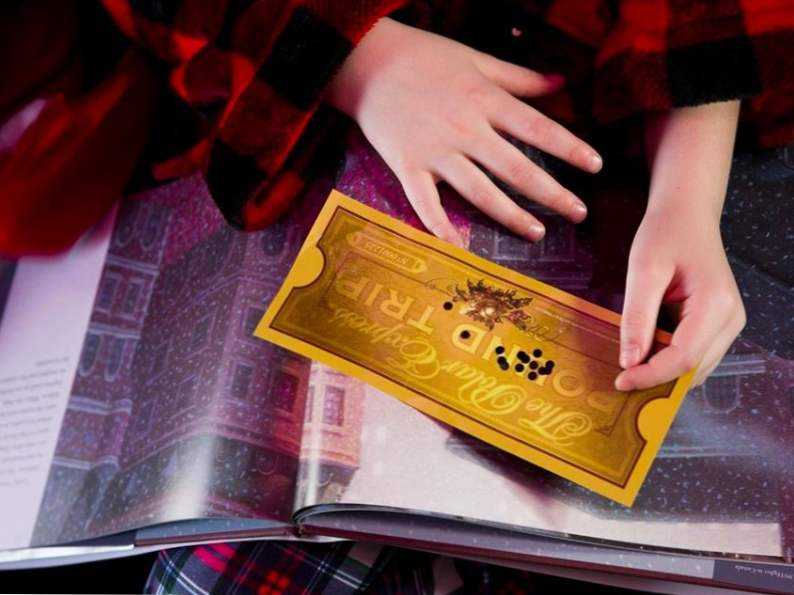 take a magical journey on the polar express train ride in florida 2