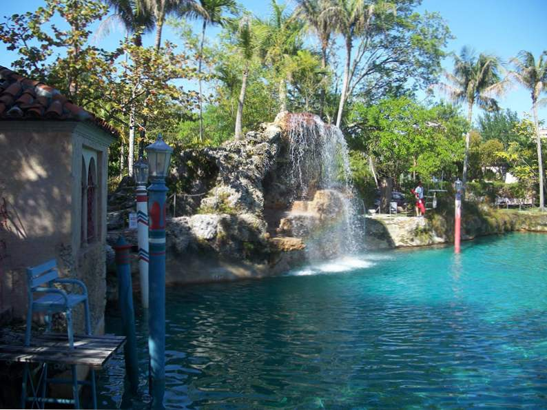 the venetian pool in florida americas largest freshwater pool