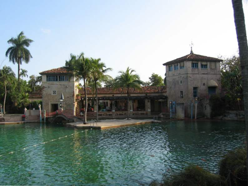the venetian pool in florida americas largest freshwater pool 2