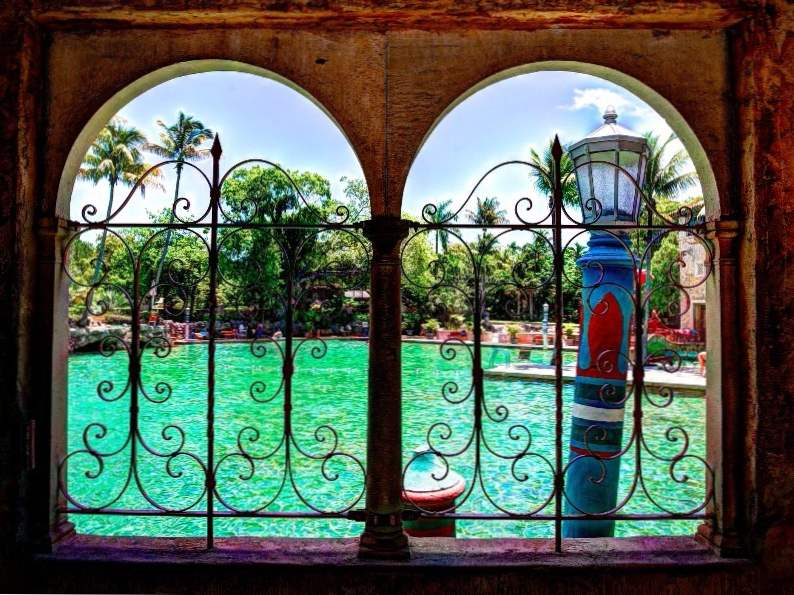 the venetian pool in florida americas largest freshwater pool 3