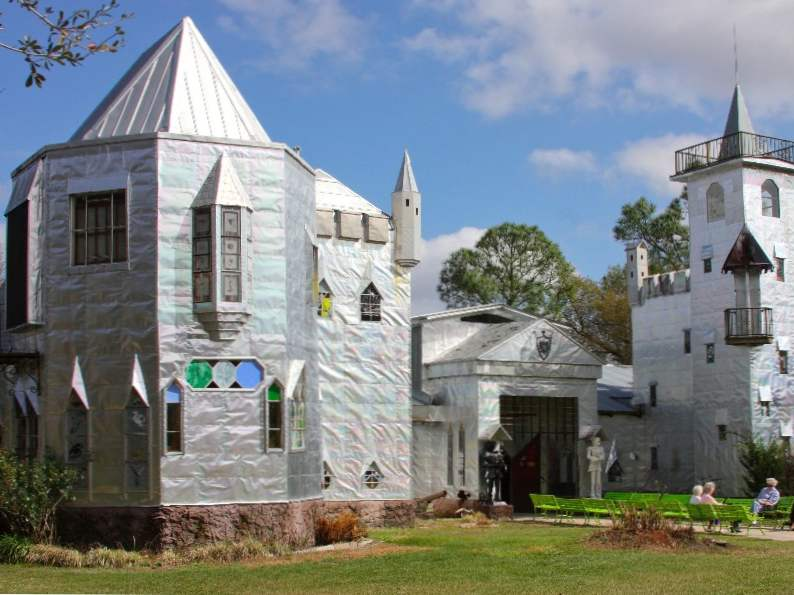 this quirky fairy tale castle in florida is a great family day trip