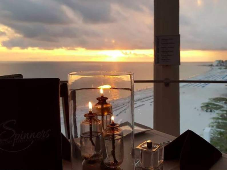 this revolving restaurant in florida serves up picturesque ocean views 4