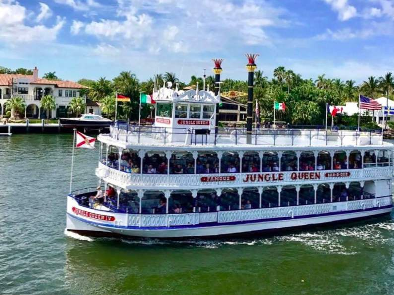 tour fort lauderdale florida on the jungle queen riverboat cruise 4