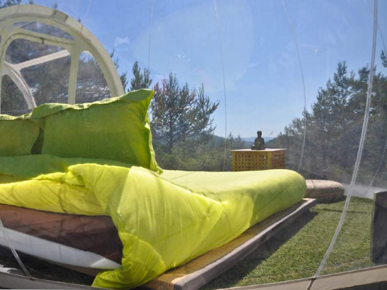 sleep in a bubble in the middle of the french wilderness at attraprves 2