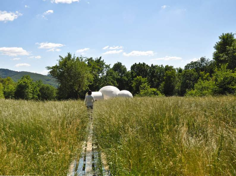 sleep in a bubble in the middle of the french wilderness at attraprves 6